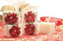 Christmas Luxury Handmade Paper Soap (100g)