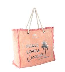 Peace Love and Coconuts Bag